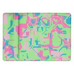 Pastel Chaos Samsung Galaxy Tab 10 1  P7500 Flip Case by LalyLauraFLM