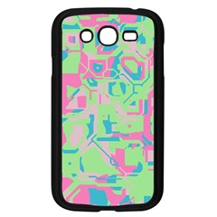Pastel Chaos Samsung Galaxy Grand Duos I9082 Case (black) by LalyLauraFLM