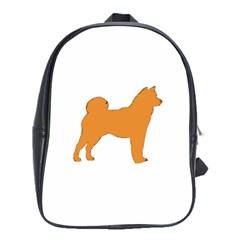 Shiba Inu Silo Color School Bag (XL) by TailWags