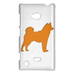 Shiba Inu Silo Color Nokia Lumia 720 Hardshell Case by TailWags