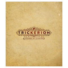 Trickerion   Shard By Keven Ruest   Drawstring Pouch (small)   1hycd6fgnb9w   Www Artscow Com Back