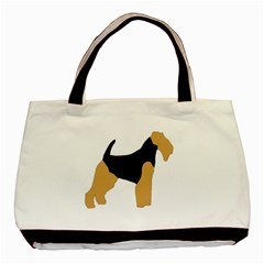 Welsh Terrier Silo Color Classic Tote Bag by TailWags