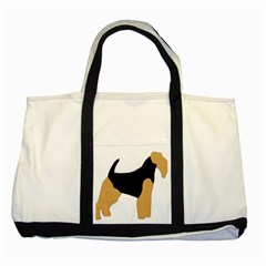 Welsh Terrier Silo Color Two Toned Tote Bag by TailWags