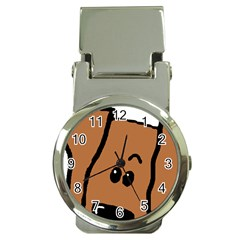 Peeping Vizsla Money Clip with Watch by TailWags