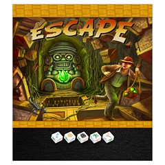 Escape   Dice Bag By Keven Ruest   Drawstring Pouch (medium)   Jybxz9u3ffoz   Www Artscow Com Front