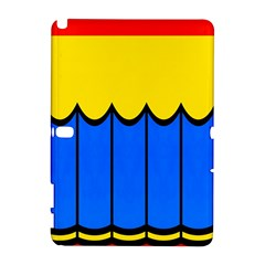 Colorful Curtain Samsung Galaxy Note 10 1 (p600) Hardshell Case