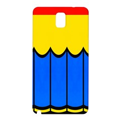 Colorful Curtain Samsung Galaxy Note 3 N9005 Hardshell Back Case by LalyLauraFLM