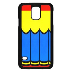 Colorful Curtain samsung Galaxy S5 Case by LalyLauraFLM