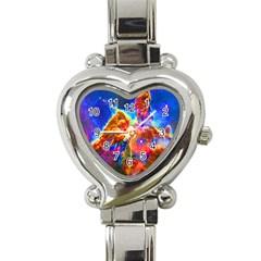 Cosmic Mind Heart Italian Charm Watch  by icarusismartdesigns