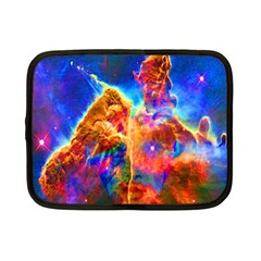 Cosmic Mind Netbook Sleeve (small) by icarusismartdesigns