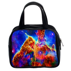 Cosmic Mind Classic Handbag (two Sides) by icarusismartdesigns