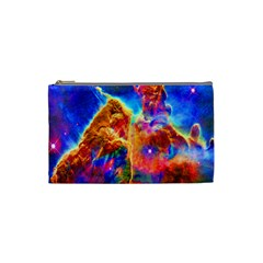 Cosmic Mind Cosmetic Bag (small) by icarusismartdesigns