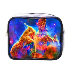 Cosmic Mind Mini Travel Toiletry Bag (one Side) by icarusismartdesigns