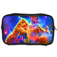 Cosmic Mind Travel Toiletry Bag (two Sides) by icarusismartdesigns