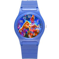 Cosmic Mind Plastic Sport Watch (small) by icarusismartdesigns