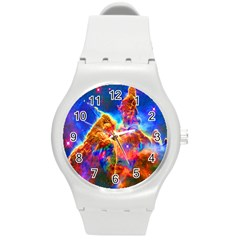 Cosmic Mind Plastic Sport Watch (medium) by icarusismartdesigns