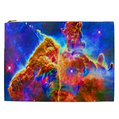 Cosmic Mind Cosmetic Bag (xxl) by icarusismartdesigns
