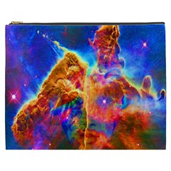 Cosmic Mind Cosmetic Bag (xxxl) by icarusismartdesigns