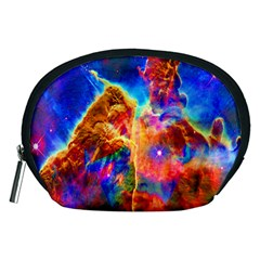 Cosmic Mind Accessory Pouch (medium) by icarusismartdesigns