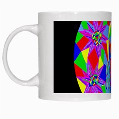 Star Seeker White Coffee Mug by icarusismartdesigns