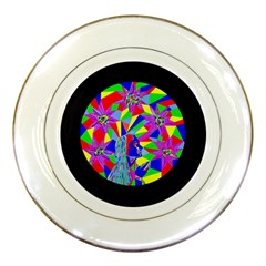 Star Seeker Porcelain Display Plate by icarusismartdesigns