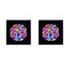 Star Seeker Cufflinks (square) by icarusismartdesigns