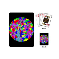 Star Seeker Playing Cards (mini) by icarusismartdesigns