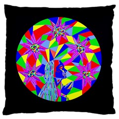 Star Seeker Large Cushion Case (single Sided)  by icarusismartdesigns