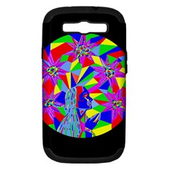 Star Seeker Samsung Galaxy S III Hardshell Case (PC+Silicone) by icarusismartdesigns