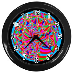 Magical Trance Wall Clock (black) by icarusismartdesigns
