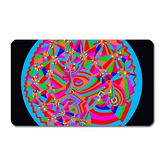 Magical Trance Magnet (Rectangular) by icarusismartdesigns