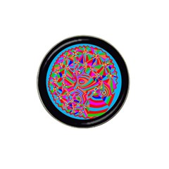 Magical Trance Golf Ball Marker (for Hat Clip) by icarusismartdesigns