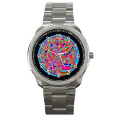 Magical Trance Sport Metal Watch by icarusismartdesigns