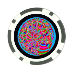 Magical Trance Poker Chip by icarusismartdesigns