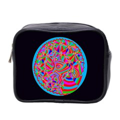 Magical Trance Mini Travel Toiletry Bag (two Sides) by icarusismartdesigns