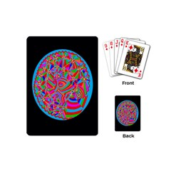 Magical Trance Playing Cards (mini) by icarusismartdesigns