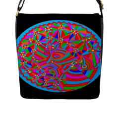 Magical Trance Flap Closure Messenger Bag (large) by icarusismartdesigns
