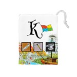 keyflower_tools - Drawstring Pouch (Medium)