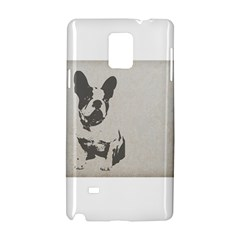 French Bulldog Art Samsung Galaxy Note 4 Hardshell Case by TailWags