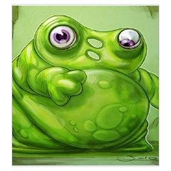 Quarriors Green By Dean   Drawstring Pouch (large)   R2774tg32gdi   Www Artscow Com Front