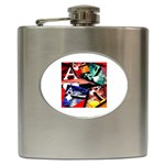 Poker Art Aces - Hip Flask (6 oz)