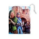 Carcassonne Winter Edition - Drawstring Pouch (Large)