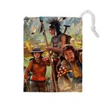 Carcassonne Gold Rush - Drawstring Pouch (Large)