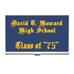 David T Howard - Business Card Holder