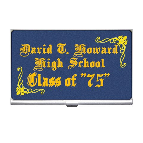 David T Howard2 By Beverly A  Terrell   Business Card Holder   Hwpc8ynhrsi1   Www Artscow Com Front