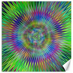 Hypnotic Star Burst Fractal Canvas 12  X 12  (unframed) by StuffOrSomething