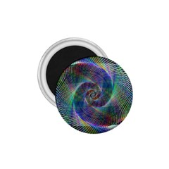 Psychedelic Spiral 1 75  Button Magnet by StuffOrSomething