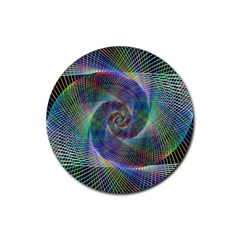 Psychedelic Spiral Drink Coasters 4 Pack (round) by StuffOrSomething