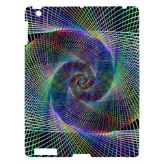 Psychedelic Spiral Apple Ipad 3/4 Hardshell Case by StuffOrSomething