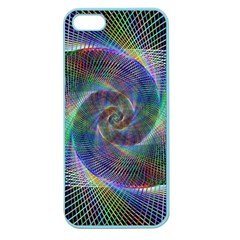 Psychedelic Spiral Apple Seamless Iphone 5 Case (color) by StuffOrSomething